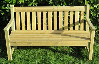 Alexander Rose Pine Bench